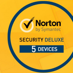 Norton Security Deluxe 5 Appareils 5 PC 1 an-PC