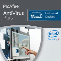 McAfee Antivirus Plus 2017 Unlimited