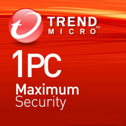 Trend Micro Maximum Security 1 Appareil 3 Ans