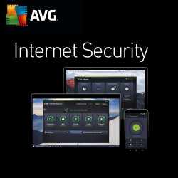AVG Internet Security PL 2018 1 PC/ 2 LATA